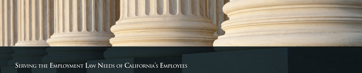 Serving the Employment Law Needs of California's Central Coast - (805) 845-9630